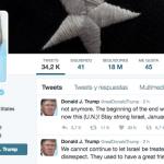 """""""¡Manténgase firme, Israel! ¡El 20 de enero está al caer!"""""""