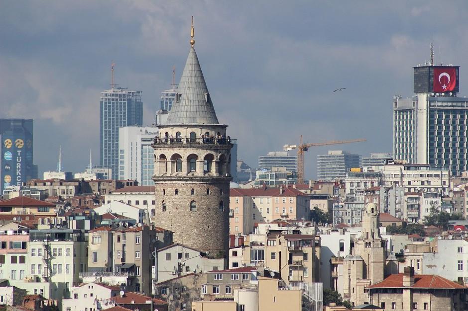 Turquía Gálata Bandera 940x626