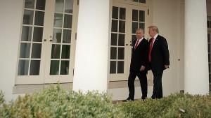 Trump y Netanyahu en la Casa Blanca