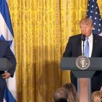 Israel debe dejar hacer a Trump