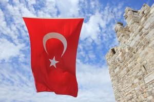Bandera Turquía Muro 940x626
