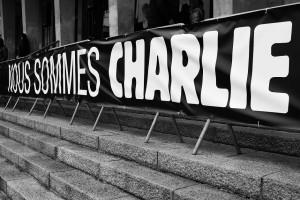 """Manifestación en París bajo el lema """"Je suis Charlie"""""""