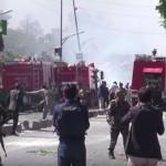 Carnicería en el barrio de las embajadas de Kabul