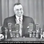 Cuando Naser se reía de la imposición del velo