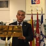 Yair Lapid, en Madrid para denunciar la israelofobia subvencionada