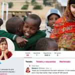 Malala abre cuenta en Twitter
