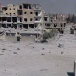 Raqa, a vista de dron: la capital del 'califato', en ruinas