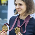 Anna Muzychuk, campeona
