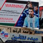 Argentina cede al chantaje palestino y renuncia a jugar en Jerusalén