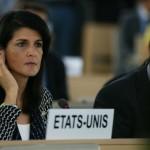 Antológico rapapolvo de Nikki Haley al mundo arabo-musulmán