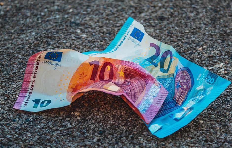Billetes de euro (Unión Europea).