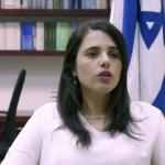 Ayelet Shaked, líder de la Nueva Derecha israelí