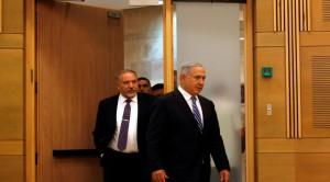 lieberman-netanyahu